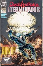 DEATHSTROKE -THE TERMINATOR  #20 1993 DC -NUCLEAR WINTER WOLFMAN/ ERWIN...NM-