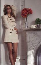 IMPASSE New York Suit Skirt Size 8 Yellow Boucle Tweed Suit Skirt Blazer