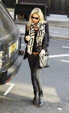 c.r.a.f.t. Black Denim Hell's Babe Biker Jeans BNWT ASO Kate Moss