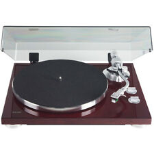 Teac TN-400S Belt-driven Turntable with S-Shaped Tonearm - Gloss Cherry
