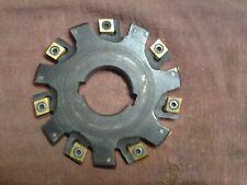 Ingersoll 516 Axial Drive Heavy Duty Slotter 312 1 14 Bore Nice Inserts