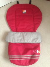 Cosy Toes Bruin Infant Universal Footmuff/ Buggy /Stroller/Pram Red