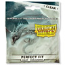 Dragon Shield Perfect Fit Standard Size Clear Sideloader 100ct Sleeves Free Ship