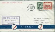NEW ZEALAND - 1940  'NZ to USA AIR MAIL SERVICE'  Cover  [A1597]