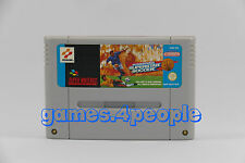 Iss/International Superstar Soccer Deluxe-fútbol para Super Nintendo/SNES