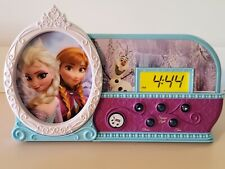 Disney Frozen Night Glow Alarm Clock (#FR-346). Tested works. Used, cleaned