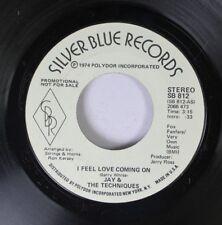 Rock Promo Nm! 45 Jay & The Techniques - I Feel Love Coming On / I Feel Love Com