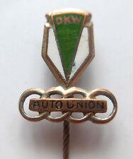 Original emaillierte Anstecknadel --Auto Union-- DKW