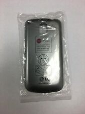NEW LG Optimus One P500 Back Cover - Battery Door - Battery Cover - Gray