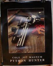 """1987 Colt .357 Magnum Python Hunter 28 x 22"""" Poster"""