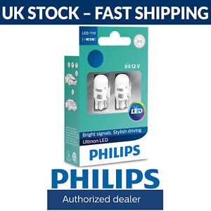 Philips Ultinon LED W5W 4000K Warm White Car Interior Bulbs (Twin) 11961ULW4X2