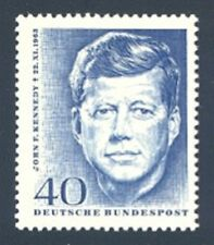 John F Kennedy Honored on 1964 German Stamp #901 Mint NH Complete