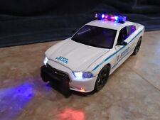NYPD Dodge Charger Pursuit Unit 1/24 Scale Diecast Replica W/ Working Lights