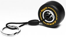 Pirelli Soft Tire Keychain Yellow