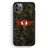 Österreich Austria Camouflage iPhone 11 Pro Max Silikon Hülle Motiv Design Mi...