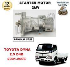 für Toyota Dyna 2.5 D4D 2001-2006 NEU Original Denso Anlasser