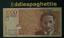 COLOMBIA 1000 PESOS 15-8-2007 UNC P-456i