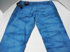 NWT Womens Size 29/8 a.n.a. Blue Tie Dyed Skinny Jeans