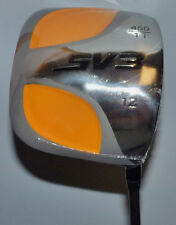 SV3 Square 460CC Titanium Golf Driver - 12 Degree - Ladies w/ Graphite Shaft