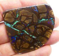 Australian Boulder Opal, Solid Natural, Polished Gem, loose opal, Lapidary 10315