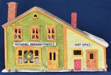 "Dept 56 - ""Nathaniel Bingham Fabrics & Post Offce"" - #65307 - Nev"