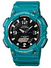 Casio Classic Watch * AQS810WC-3AV Solar Anadigi Green Ivanandsophia #crazy1212