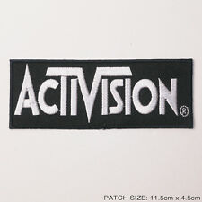 ACTIVISION  (Atari VCS) - Game Company Brand Logo EMBROIDERED PATCH