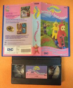 VHS film ARRIVANO I TELETUBBIES 1996 BBC DNC 8026120000548 (F161) no*dvd^