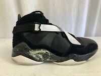 Nike Air Jordan 8.0 Black/White Pre-Owned Very Good Size 9.5 467807-001