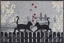 Fußmatte Cats in Love wash+dry 50 x 75 cm waschbare Fußmatte
