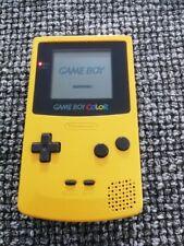 715/ Nintendo Game Boy Color gelb gut. Zustd. Funktion überprüft 1996 wenig ben.