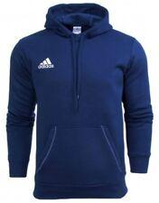 Adidas Felpa con cappuccio Uomo Core 15 Blu (dark Blue/white) S