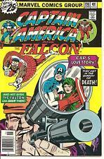 Captain America # 198 June 1976 Marvel The Falcon Jack Kirby