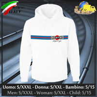 "Felpa ""MARTINI RACING"" mod. GP, Hoodie/Sweatshirt Cup Lancia Gulf, Collez. 2019!"