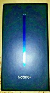 Samsung Galaxy Note10+ Plus, SM-N975U1, 256GB, Aura Glow, Factory Unlocked, BNIB