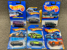 Hot Wheels ~ Lamborghini ~ Lot Of 6 ~ Reventon ~ Diablo ~ Murcielago