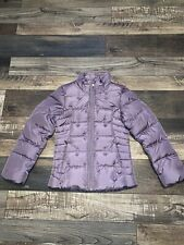 Girls The North Face  Full Zip 550 Down Jacket Size M (10-12) Good Condition