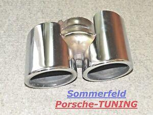 orig Porsche Carrera 997 S Tequipment Sport Endrohr MK1 Tail Pipe 99711198102