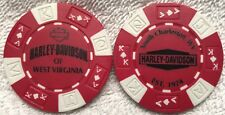 Harley-Davidson® of West Virginia in South Charleston, WV Poker Chip Red/White
