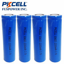 4x 3.7V ICR 18650 2200mAh Vape Mod & Torch Li-ion Rechargeable Battery Flat Top