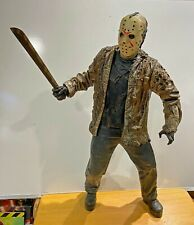 "Friday the 13th Jason Voorhees GIANT 20"" Poseable Figure NECA 2005 MASK MACHETE"