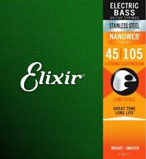 Bass strings, Elixir Nanoweb set 14677 45-105 for 4-string bass