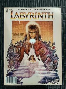 Labyrinth Marvel Super Special #40 1986 NM