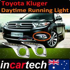 Toyota Kluger 10 11 12 13 14 accessories Driving Daytime Running LED Light Fog