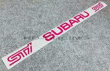 STI Subaru Windscreen Sticker Window Decals Impreza WRX Legacy X 1