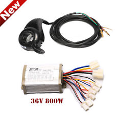36V 800W Dc Speed Controller Box Thumb Throttle Twist Electric Bicycle Scooters