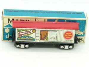 Marx Trains O Gauge Patton Paint Box Car Modern Marx With Box #7345 NIB