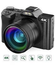 Digital de 4K Video Cámara Videograbadora Ultra HD 48MP Wifi Camara YouTube Vlogging