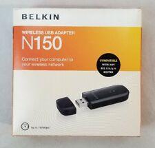 Belkin Wireless USB Adapter, N150, Set Up CD Included