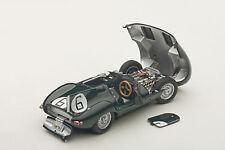 Autoart JAGUAR D-TYPE LM 24HR RACE 1955 WINNER HAWTHORN/BUEB #6 1/43 New Release